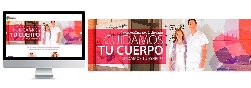 Uno de los últimos clientes en confiar en nuestros servicios de creación y diseño de paginas web es Clínica Fisioterapia y Naturopatía David Yáñez