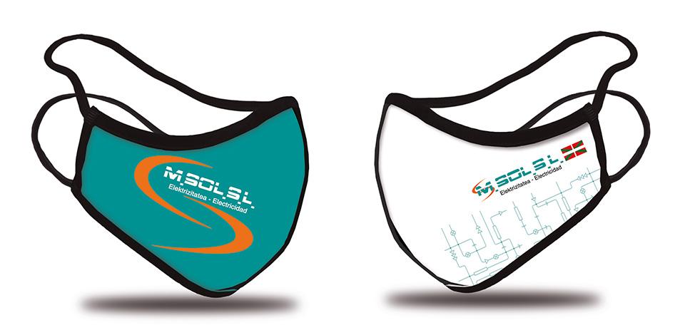 Mascarillas personalizadas para empresas Homologadas UNE 0065:2020