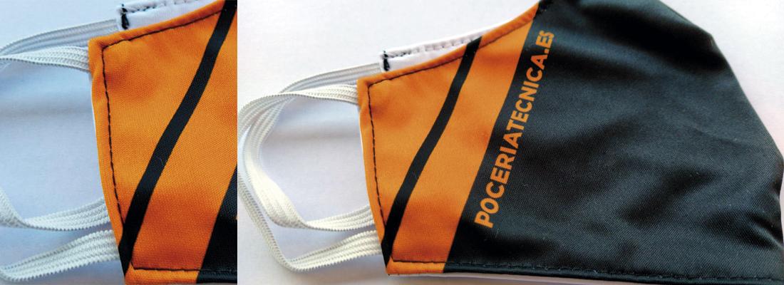 Comenzamos la fabricación de las mascarillas personalizadas para ACOMETIDAS ARRIBAS
